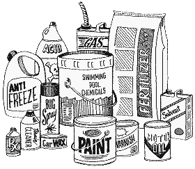 Cover photo for Annual Household Hazardous Waste Collection &  Paper Shredding