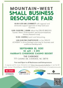 Resource Fair flyer image